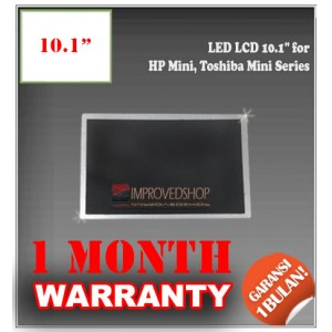 "LED LCD 10.1"" for HP Mini, Toshiba Mini Series Panel Screen Notebook/Netbook/Laptop Original Parts New"