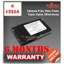 Baterai Fujitsu Lifebook T730, T900, T1010, T4310, T4410 (Black), T5010, TH700 Series
