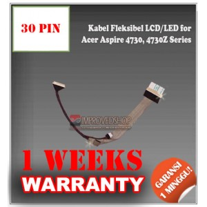 Kabel Fleksibel LCD for Acer Aspire 4730, 4730Z Series
