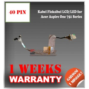 Kabel Fleksibel LCD for Acer Aspire One 751 Series