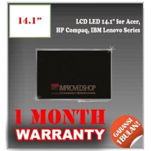 "LCD LED 14.1"" for Acer, HP Compaq, IBM Lenovo Series Panel Screen Notebook/Netbook/Laptop Original Parts New"