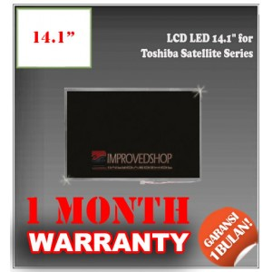 "LCD LED 14.1"" for Toshiba Satellite Series Panel Screen Notebook/Netbook/Laptop Original Parts New"