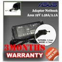 Adaptor ASUS 19V 1.58A Series (Konektor 2.5 x 0.7mm)
