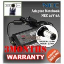 Adaptor NEC 20V 6A Series (Konektor 5.5 x 2.5mm)