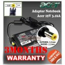 Adaptor Acer 19V 3.16A Series (5.5 x 2.1mm)