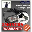 Adaptor ASUS 19V 3.95A Series (Konektor 5.5 x 2.5mm)