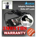 Adaptor Delta 19V 3.42A Series (5.5 x 2.5mm)