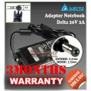 Adaptor Delta 20V 2A Series (5.5 x 2.5mm)