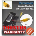 Adaptor IBM Lenovo 16V 7.5A Series (Konektor 4 Pin)