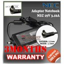 Adaptor NEC 19V 3.16A Series (Konektor 5.5 x 2.5mm)