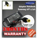 Adaptor Samsung 19V 4.74A Series (Konektor 5.5 x 3.0mm)