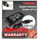 Adaptor Toshiba 15V 5A Series (Konektor 6.5 x 3.0mm)