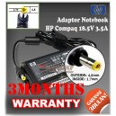 Adaptor HP-COMPAQ 18.5V 3.5A Series (Kecil) (Konektor 4.8 x 1.7mm)