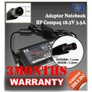 Adaptor HP-COMPAQ 18.5V 3.5A Series (Jarum) (Konektor 7.4 x 5.0mm)