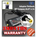 Adaptor HP-COMPAQ 18.5V 2.7A Series (5.5 x 2.5mm)