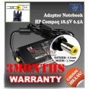 Adaptor HP-COMPAQ 18.5V 6.5A Series (Konektor 5.5 x 2.5mm)