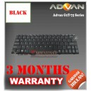 Keyboard Notebook/Netbook/Laptop Original Parts New for Advan G2T-75 Series