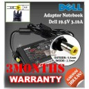 Adaptor Dell 19.5V 3.16A Series