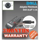 6.1 Adaptor Dell 19.5V 7.7A (~6.7A) Series (Konektor 7.4 x 5.0mm Bulat Jarum)