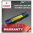 Baterai Acer Aspire 3030, 3200, 3600, Extensa 2400, 2480, 4210, 4610, TravelMate 2400, 3210 3600 Series