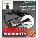 Adaptor Acer Aspire One 19V 1.58A Series (5.5 x 1.7mm)