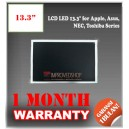 "LCD LED 13.3"" for Apple, Asus, Axioo, Benq, NEC, Toshiba Series Panel Screen Notebook/Netbook/Laptop Original Parts New"